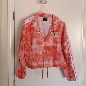 Brand New Coral Champion Sport Jacket
